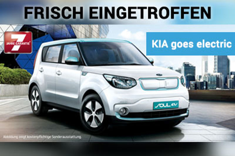 KIA goes electric